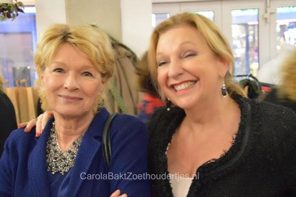 Martine Bijl en Janny van de Heijden