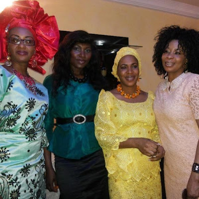 fathia balogun mercy johnson baby dedication