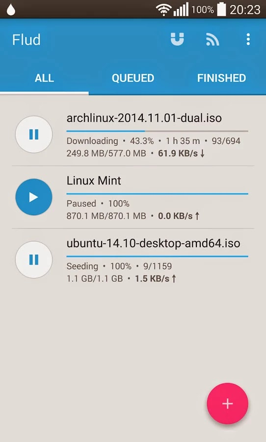 Flud - Torrent Downloader v1.1.0.1 Ad Free