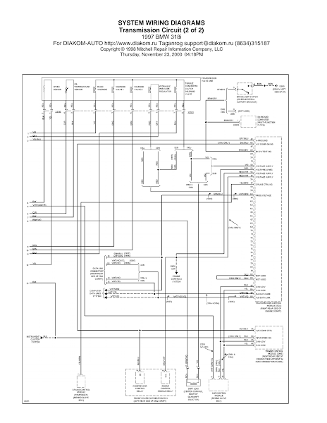 Wiring Diagrams And Free Manual Ebooks  1997 Bmw 318i Transmission Circuit Diagram