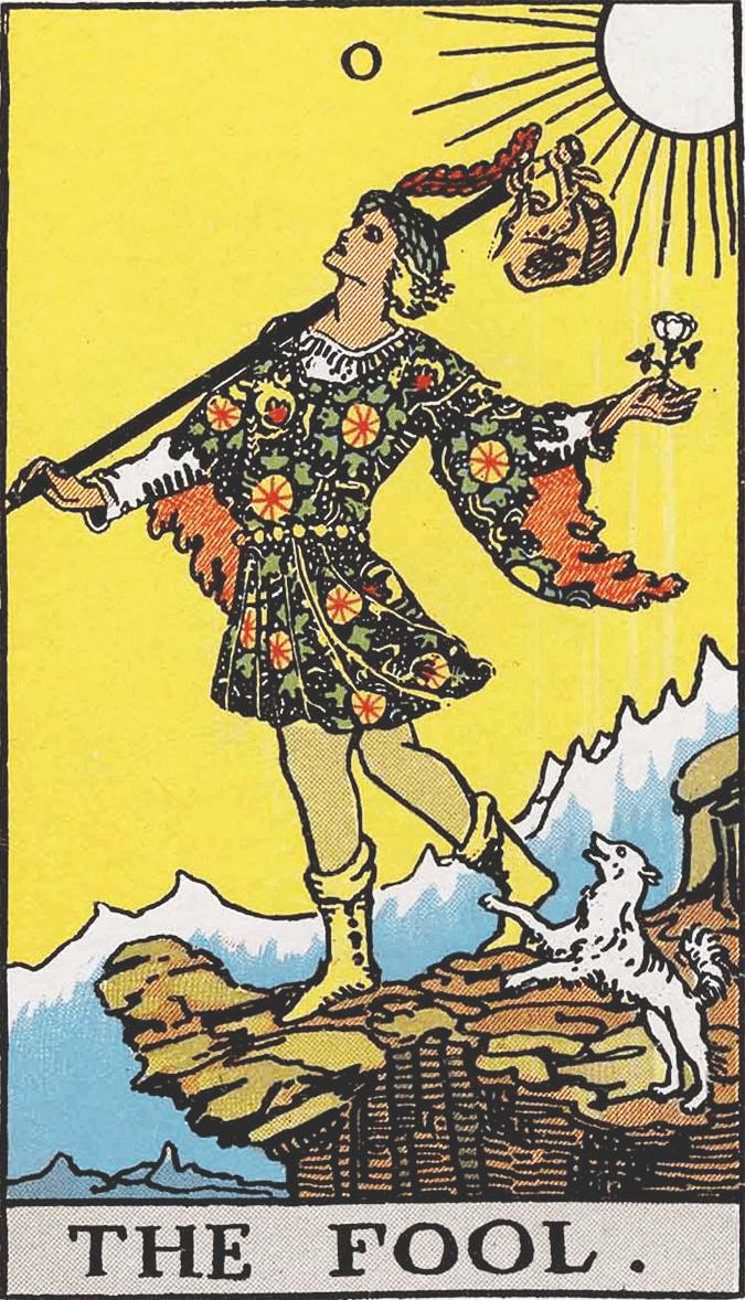 Arcano 0, O Louco - Como ler tarot