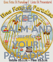 Keep calm and present your paradise