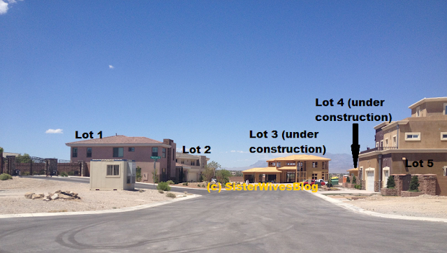 We see a lot of construction - in fact, it appears 2 houses are in the