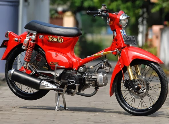 Modifikasi Honda C70