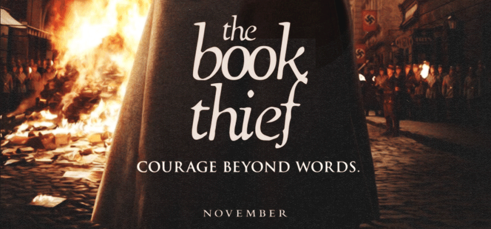 Capa A Menina Que Roubava Livros Legendado Torrent AVI + RMVB the book thief post