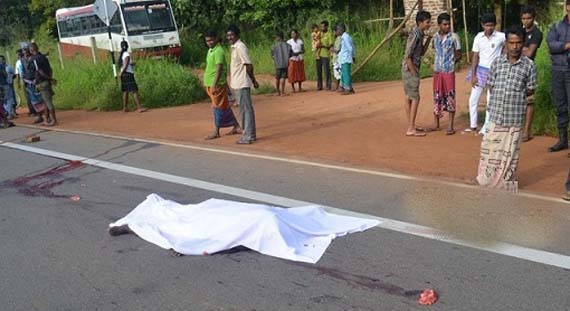 Buddhist Monk Commits Suicide On Road