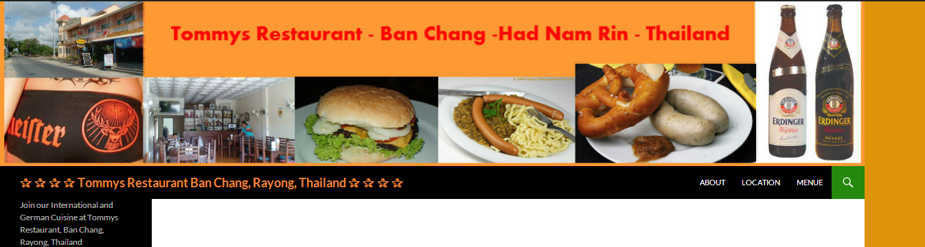 Tommys,Ban Chang,Tommys Restaurant, Restaurant Ban Chang,Bars Ban Chang,Food Ban Chang