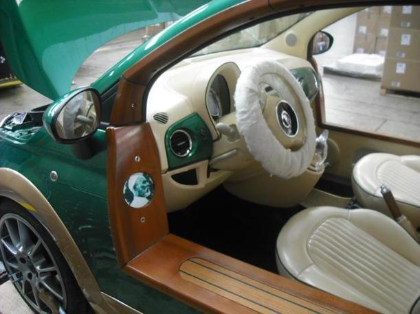 Gaddafi S Fiat Castagna Ev on 2012 Fiat 500 Battery
