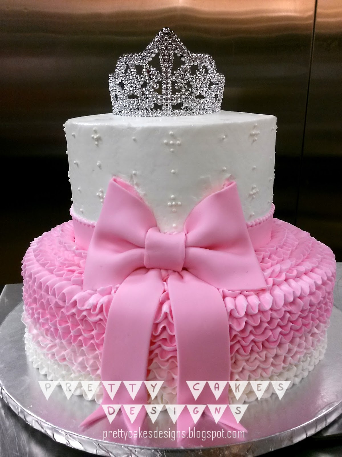 Pretty Cakes Designs Little Baby Princess