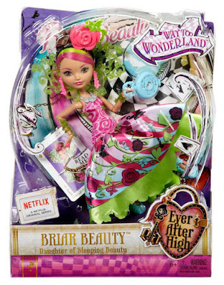 TOYS : JUGUETES - EVER AFTER HIGH  : Way Too Wonderland  Briar Beauty | Muñeca - Doll  Producto Oficial 2015 | Mattel | A partir de 6 años  Comprar Amazon España & buy Amazon USA