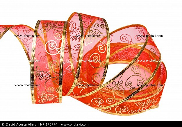 Naviadornos cinta para adornar el rbol de navidad - Lazos arbol navidad ...