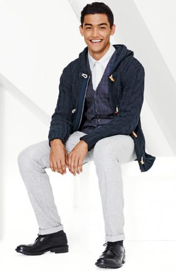 moda masculina Benetton