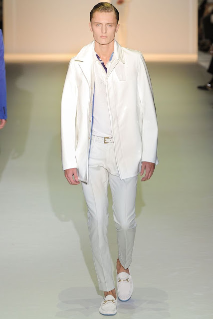 Male model Max Rendell S/S 2013 Gucci