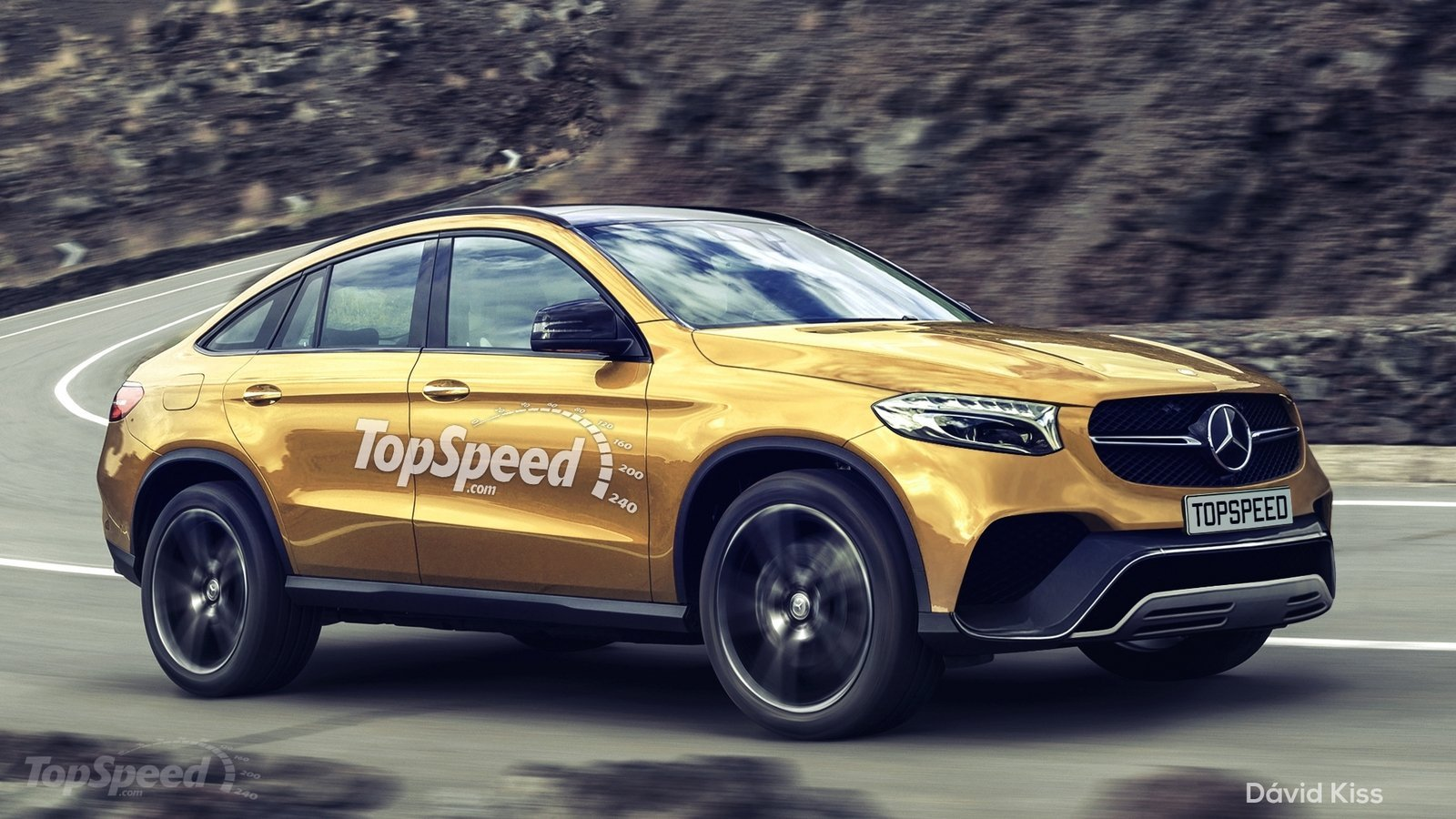 2016 Mercedes Benz Glc Coupe Render Looks Just About Right Carscoops
