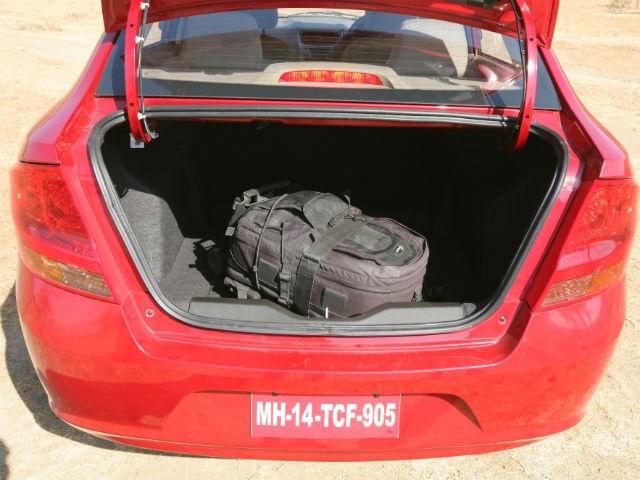 Chevrolet Sail Sedan backview