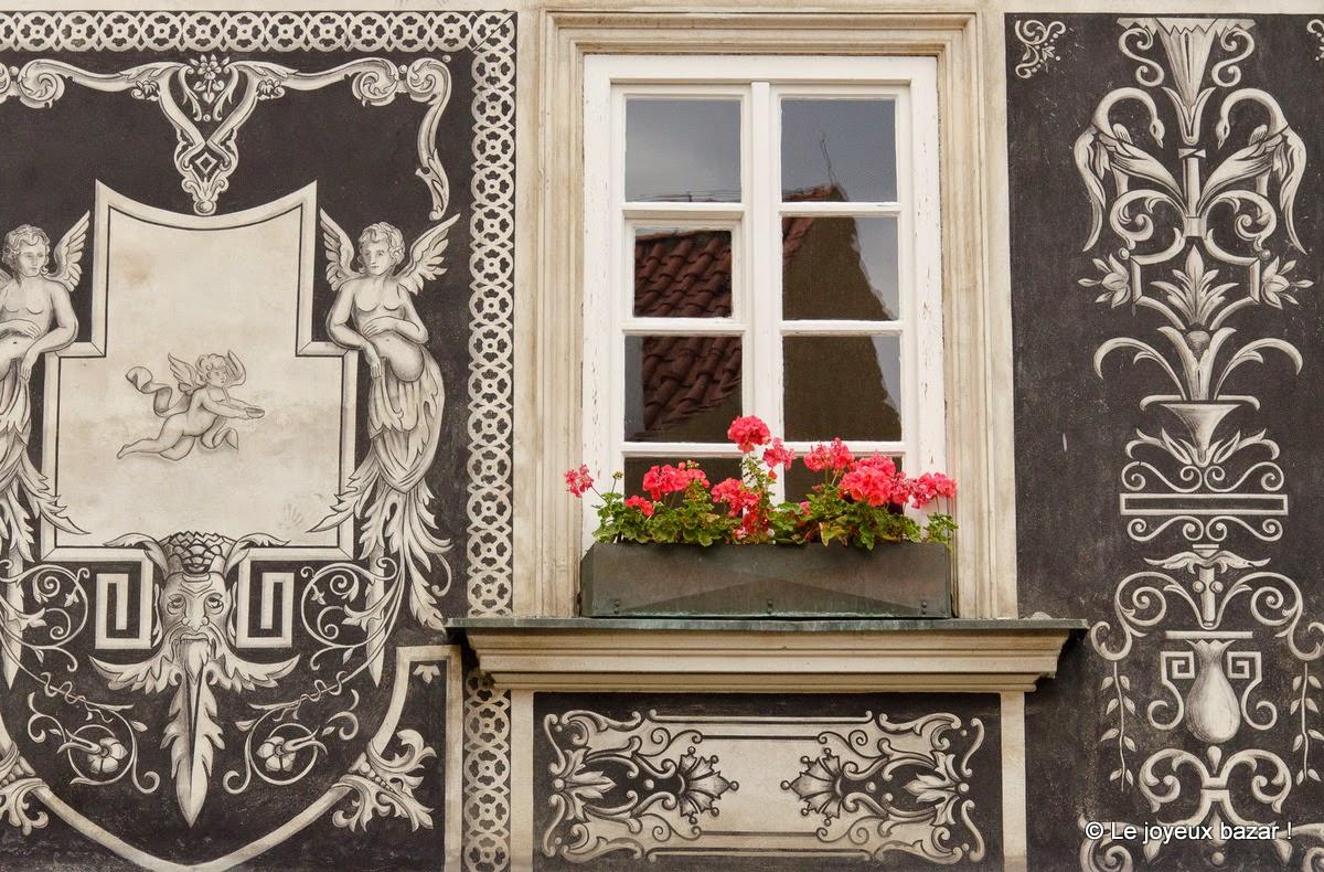 Prague - Mala Strana - façade