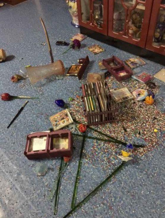 Gambar Sekitar Kejadian Gempa Bumi di Tawau