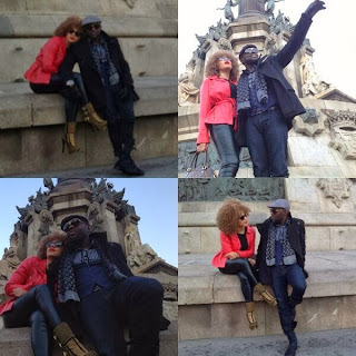 Jim Iyke takes Nadia Buari on a trip to Europe to mark her birthday