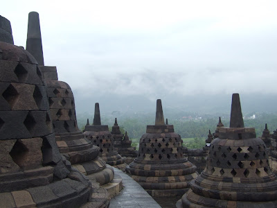 Bromo Borobudur Java Indonesia