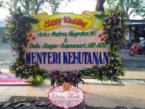 Bunga Papan Wedding Surabaya, Papan Bunga Pernikahan Surabaya