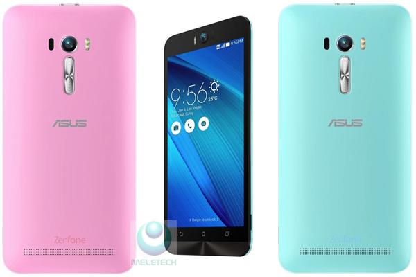Asus Zenfone Selfie Samping