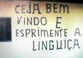 Os piores erros de Português em placas