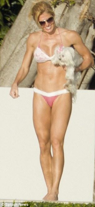 Chrissy moran tiny bikini