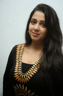 Actress Charmi Picture Gallery at Prathighatana Teaser Launch  0007.jpg