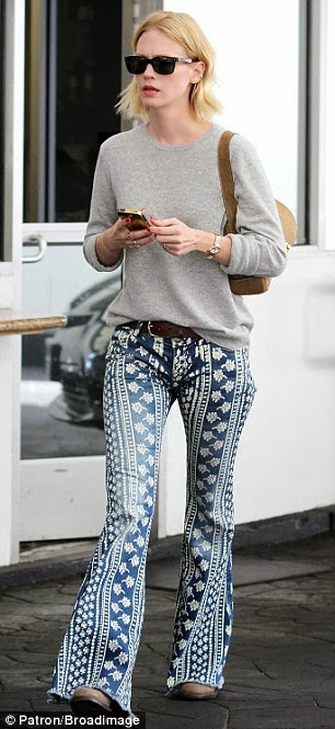 January Jones Street Style