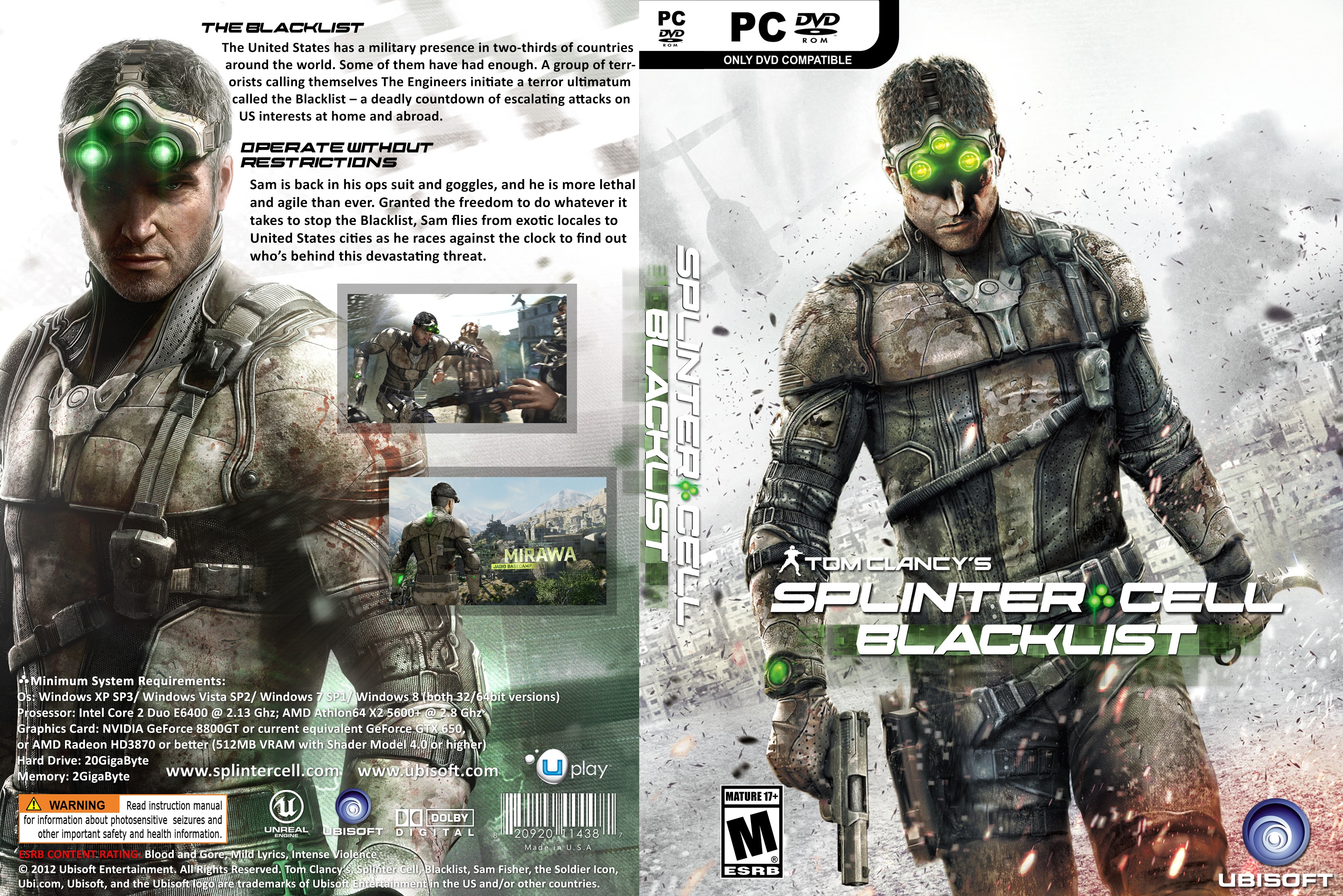 splinter cell blacklist game download for pc ocean of games