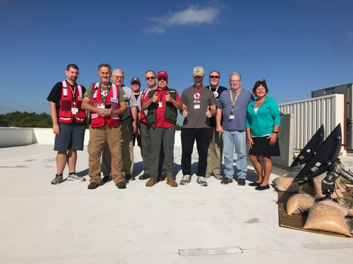American Red Cross Deployment to Wilmington, North Carolina DR 711-19 Hurricane Florence NC