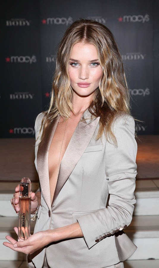 11 Rosie Huntington Whiteley Looks Hot in Beautiful Dress