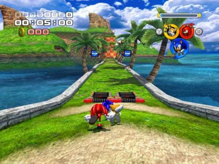 Sonic Heroes - PC Game Trainer Cheat PlayFix No-CD No-DVD