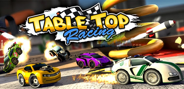 Table Top Racing Premium v1.0.40 Apk + Datos SD Mod [Compras Gratis]