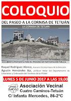 Coloquio: Del Paseo a la Cornisa de Tetuán