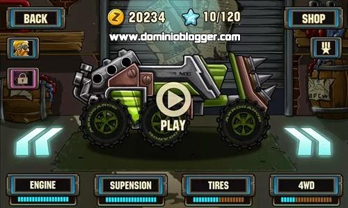 Corre, choca y diviértete con Zombie Road racing gratis