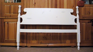 Distressed Full Headboard  *SOLD*