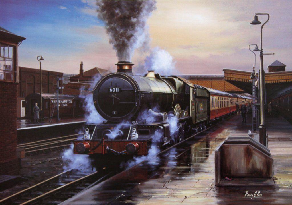 Steam Memories Railway Artist Barry G Price
