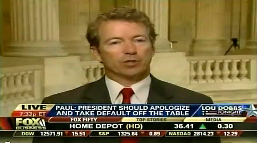 Rand Paul Votes In Favor Of Cut, Cap and Balance Act of 2011