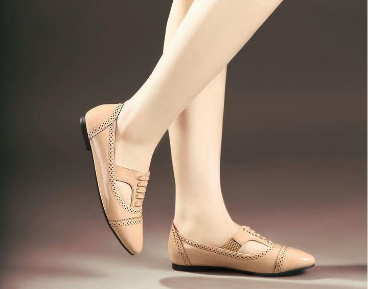 sepatu flat cantik
