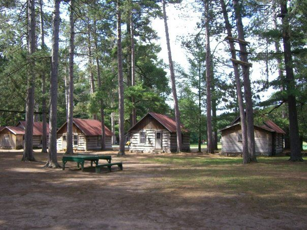 Found free flea a very modest cottage red arrow camp Summer camp cabins
