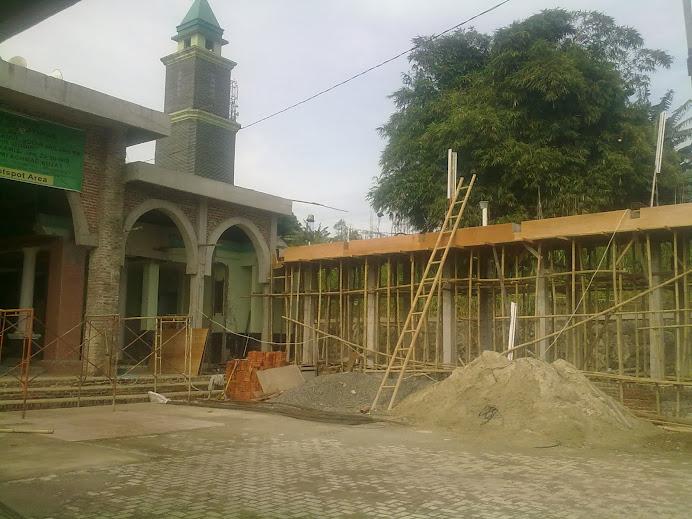 Bangunan baru tempat Wudhu tingkat 2