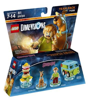 JUGUETES - LEGO Dimensions  71206 Team Pack : Scooby Doo & Shaggy   VIDEOJUEGOS - FIGURAS - MUÑECOS  Edad: 7-14 | Piezas: 81 | Comprar en Amazon