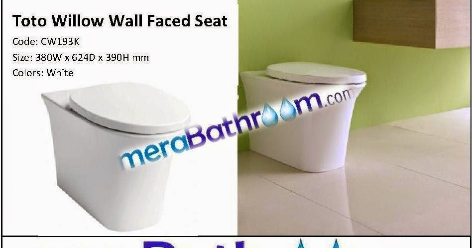 Toto Willow Wall Faced WC | Luxurious Bathroom