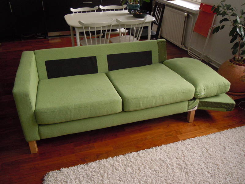 39karlstad sofa39 becomes a 39karlstad sofa bed39 get home for Sofa becomes bed