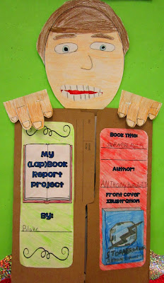 book report, lapbook, bulletin boards