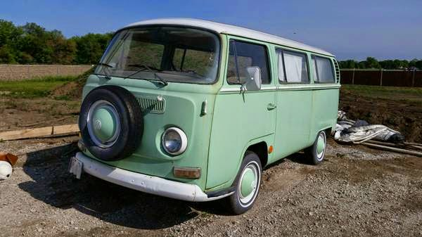 1968 Early Bay Window Deluxe Bus | vw bus wagon