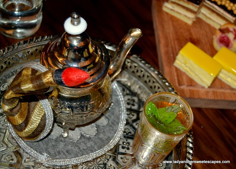 Moroccan Tea at Boulevard Kitchen Manzil Downtown