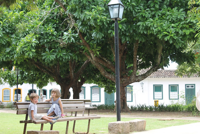 Paraty, Centro histórico, Rio, Praça da Matriz Paraty