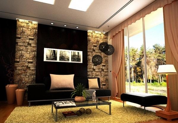 Dise os de salas modernas elegantes ideas para decorar for Paredes de salas modernas